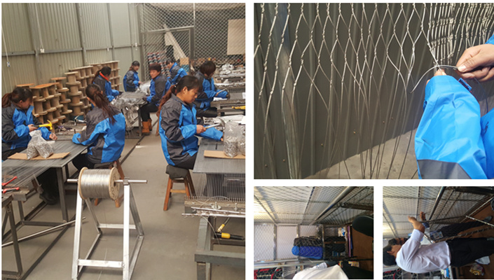 SF stainless steel cable mesh company